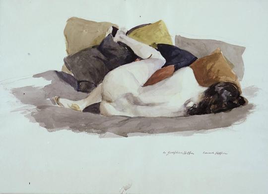crayon et aquarelle sur papier1927