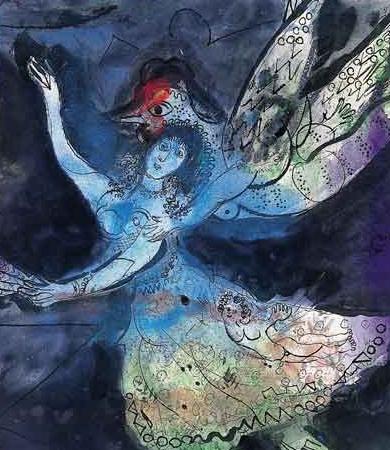 Marc CHAGALL (1887-1985) - Il mondo sottosopra by Catherine La Rose (79)