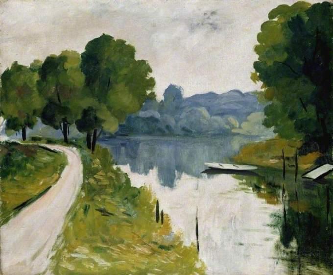 Marquet, Albert, 1875-1947; River Scene