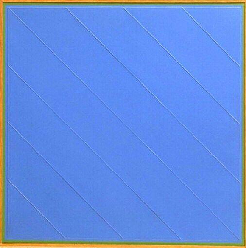 G. Honegger composition en bleu