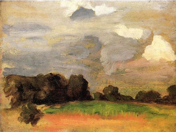 Landscape With Grey Sky-r